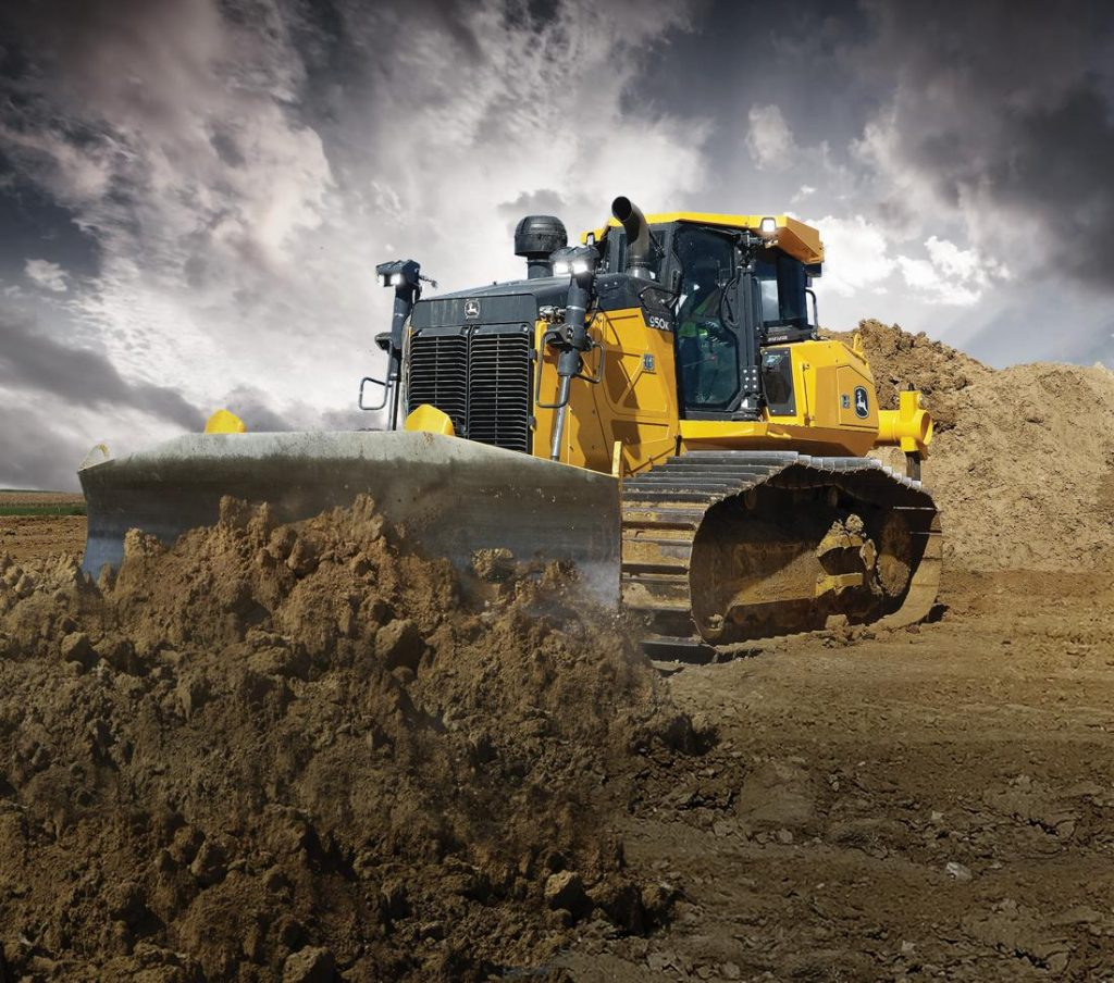John Deere adds SmartGrade capabilities to the Power-Angle-Tilt Dozer
