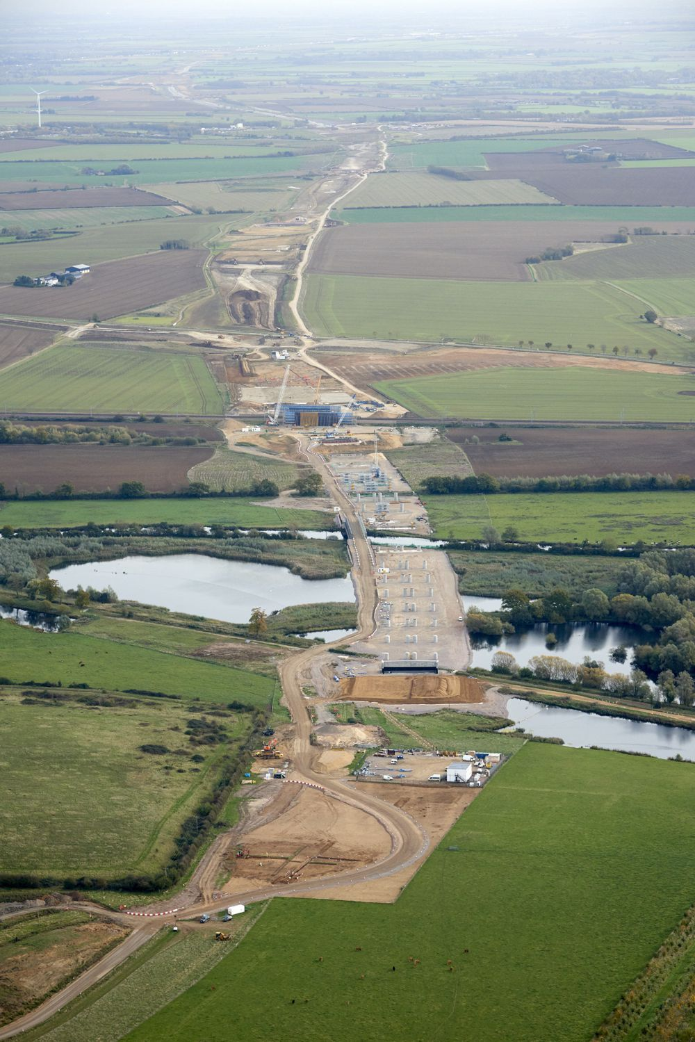 East of England: Three sites for the A14 Cambridge to Huntingdon road scheme (Swavesey, Brampton and Ermine Street – A1198 near Godmanchester) – A14 project talk, guided bus site tour and Q & A session.