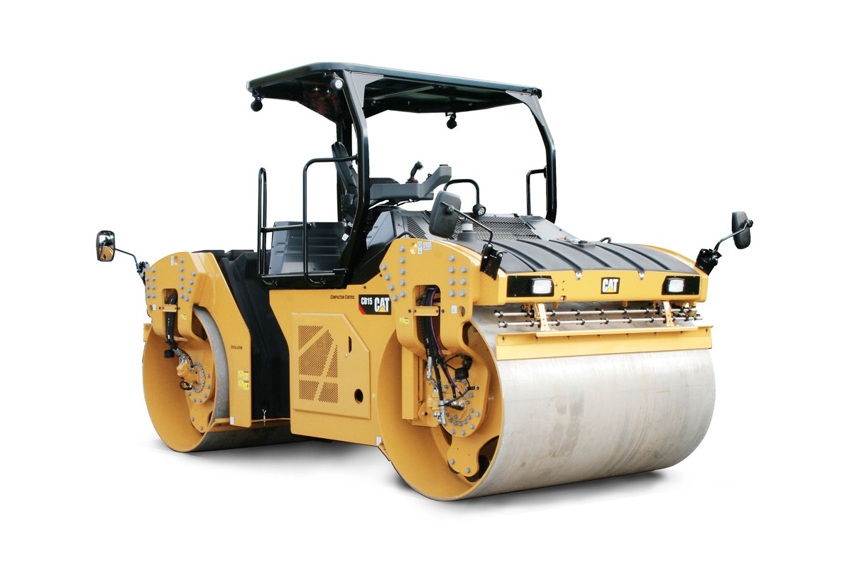 Caterpillar adds new Tandem Vibratory Rollers to their Paving machine family