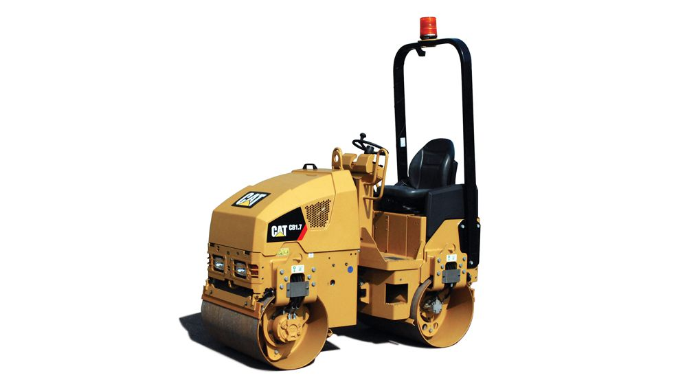 Caterpillar releases new Utility Compactors