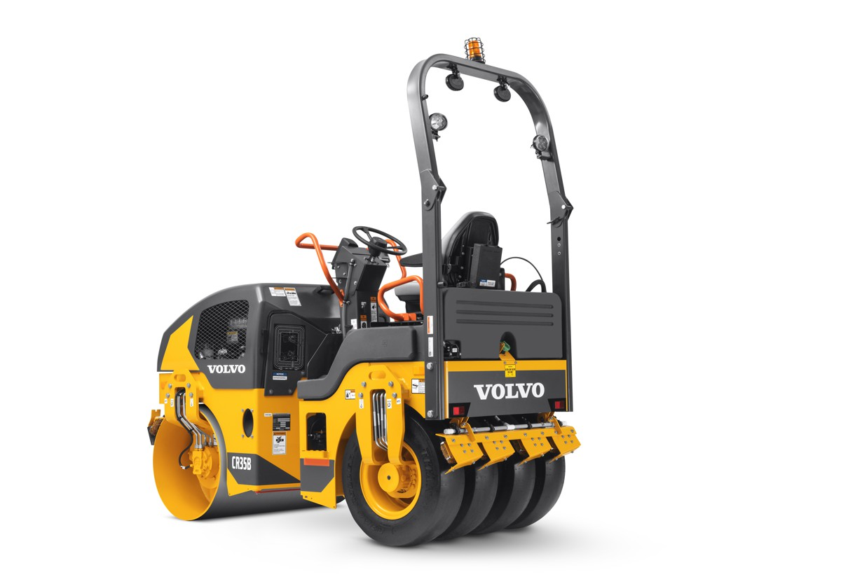 Volvo introduces new combination rollers at World of Asphalt 2018