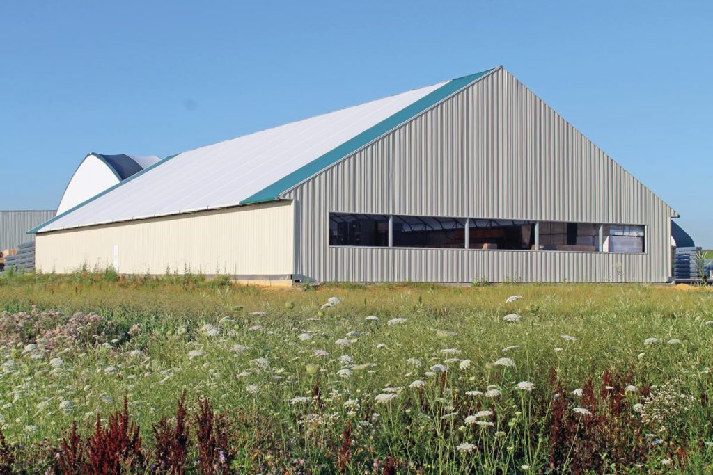 ClearSpan hybrid buildings deliver the best of both worlds