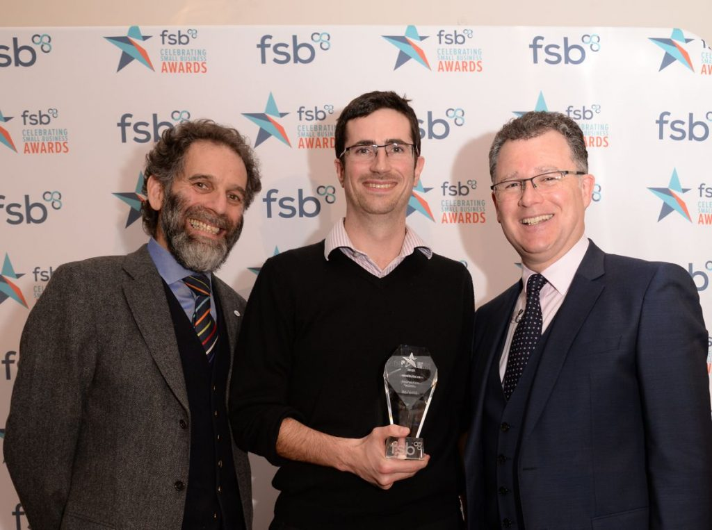 ENVIROBUILD named Ethical and Green Business of the Year at FSB London Awards