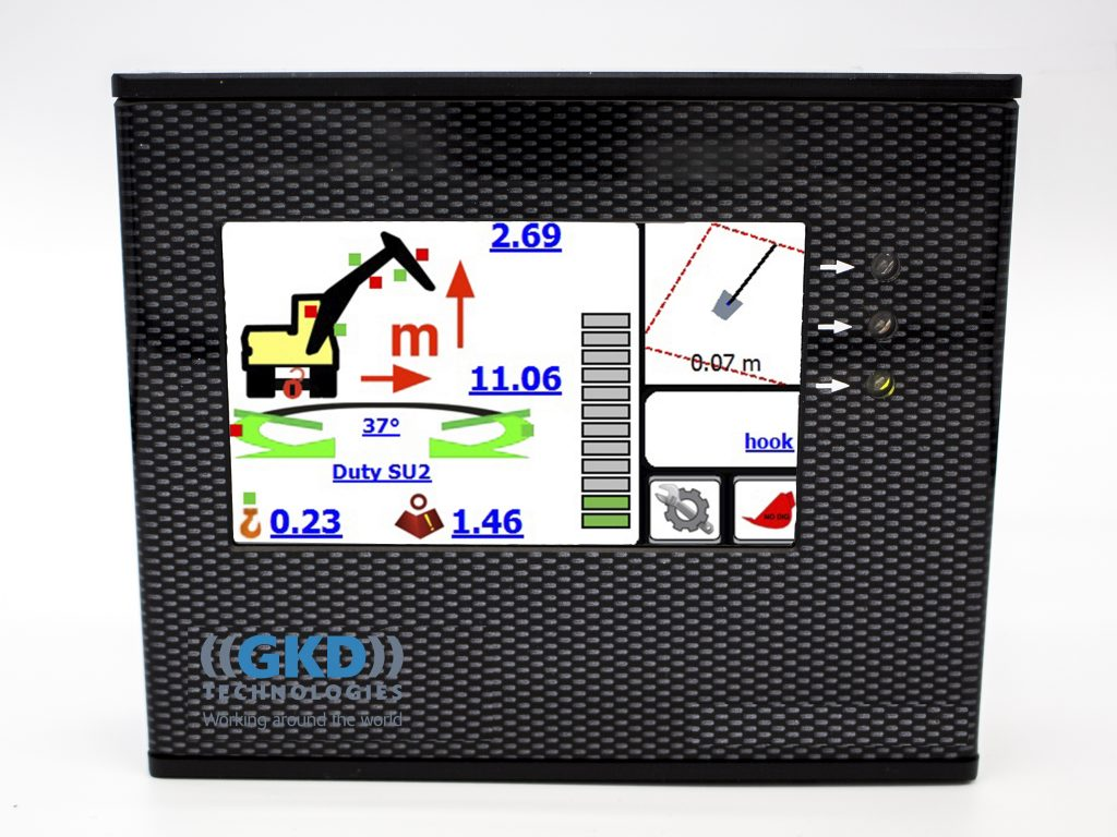GKD Technologies upgrade 2RCi load indicator to include virtual wall functions