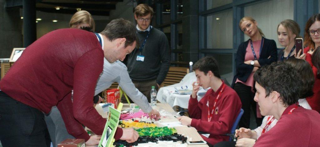 Highways England student challenge turns into Wacky Races