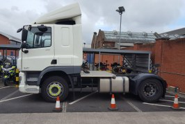 Police HGV on final patrol after catching over 5,000 careless drivers