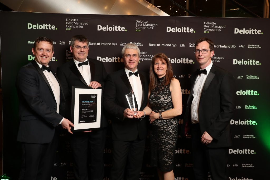 Oliver Phelan (Global Sales Manager), John Boyle ( General Manager), Ian Hill (Director), Helen Hill (Director), William McIntosh (Sales & Marketing Executive)