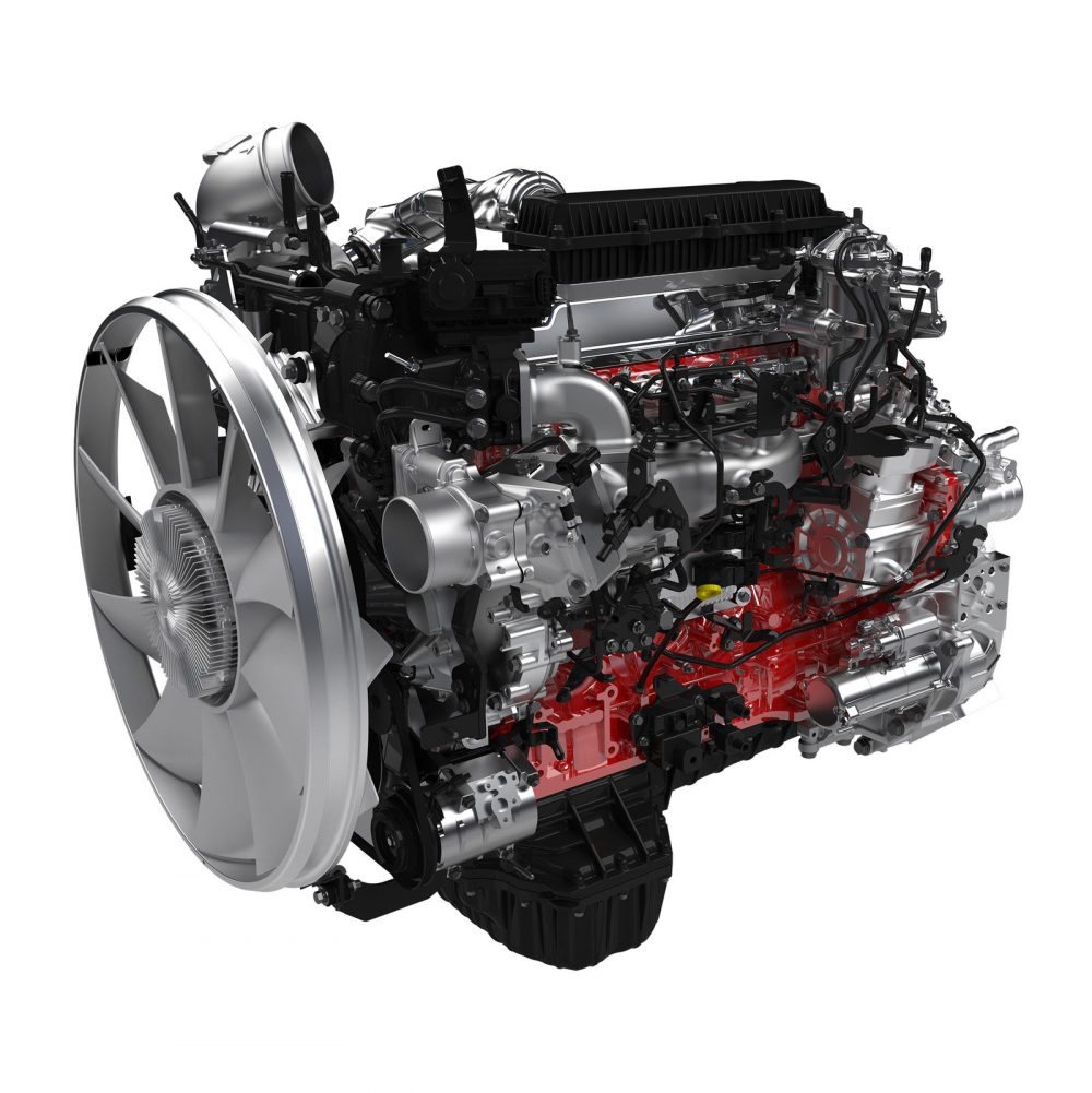 Hino Trucks legendary A09 turbo diesel 8.9-liter inline 6-cylinder engine