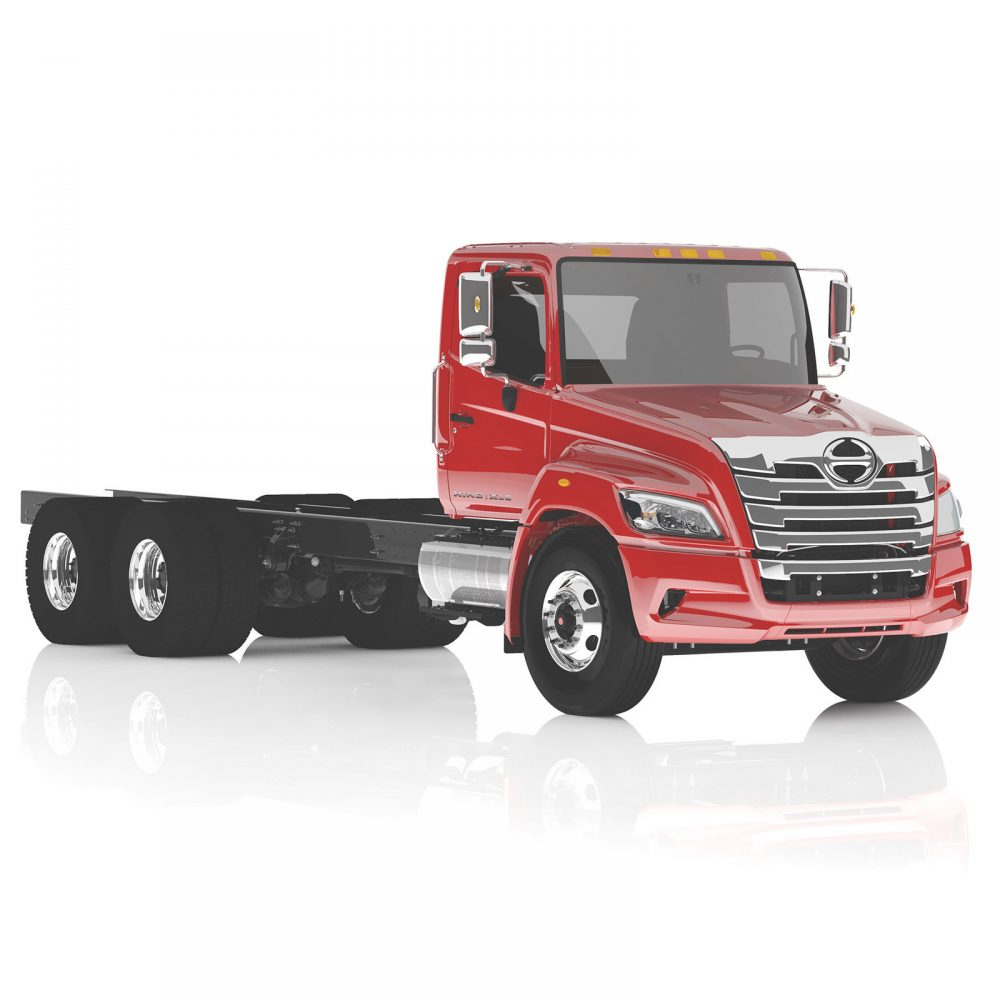 Hino XL Series Straight Truck (6x4) Powered by Hino A09 Turbo Diesel Engine