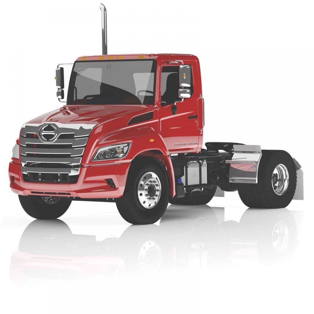 Hino XL Series Tractor (4x2) Powered by Hino A09 Turbo Diesel Engine