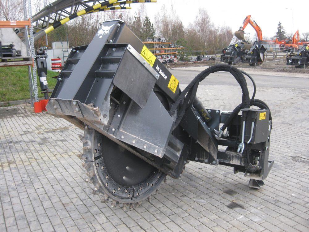 Bobcat introduce new WS-SL20 Wheel Saw attachment