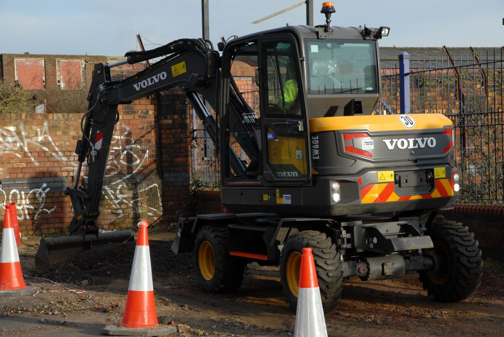 King Construction selects Volvo EW60E Excavator for big Liverpool project