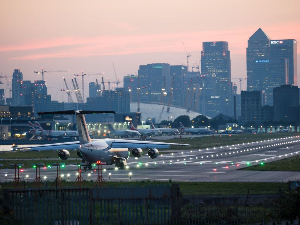 London City Airport - Photo by James Petts