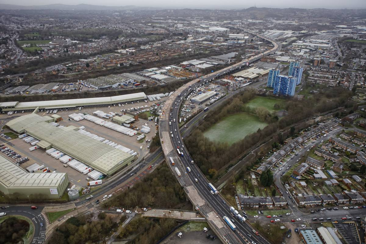 Midlands: M5 Oldbury Viaduct – a project talk, tour of the viaduct (above and below) to see work being carried out.