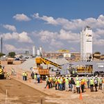 KwaMhlanga doubles roadwork production with Rapidmix Mobile Continuous Concrete Plant