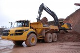 Morris-Perry add a new Volvo A45G Hauler to the quarry fleet