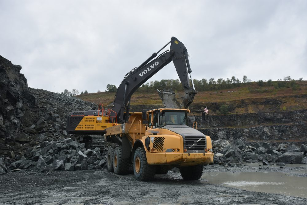 Quarry saves costs and fuel with downhill hauling