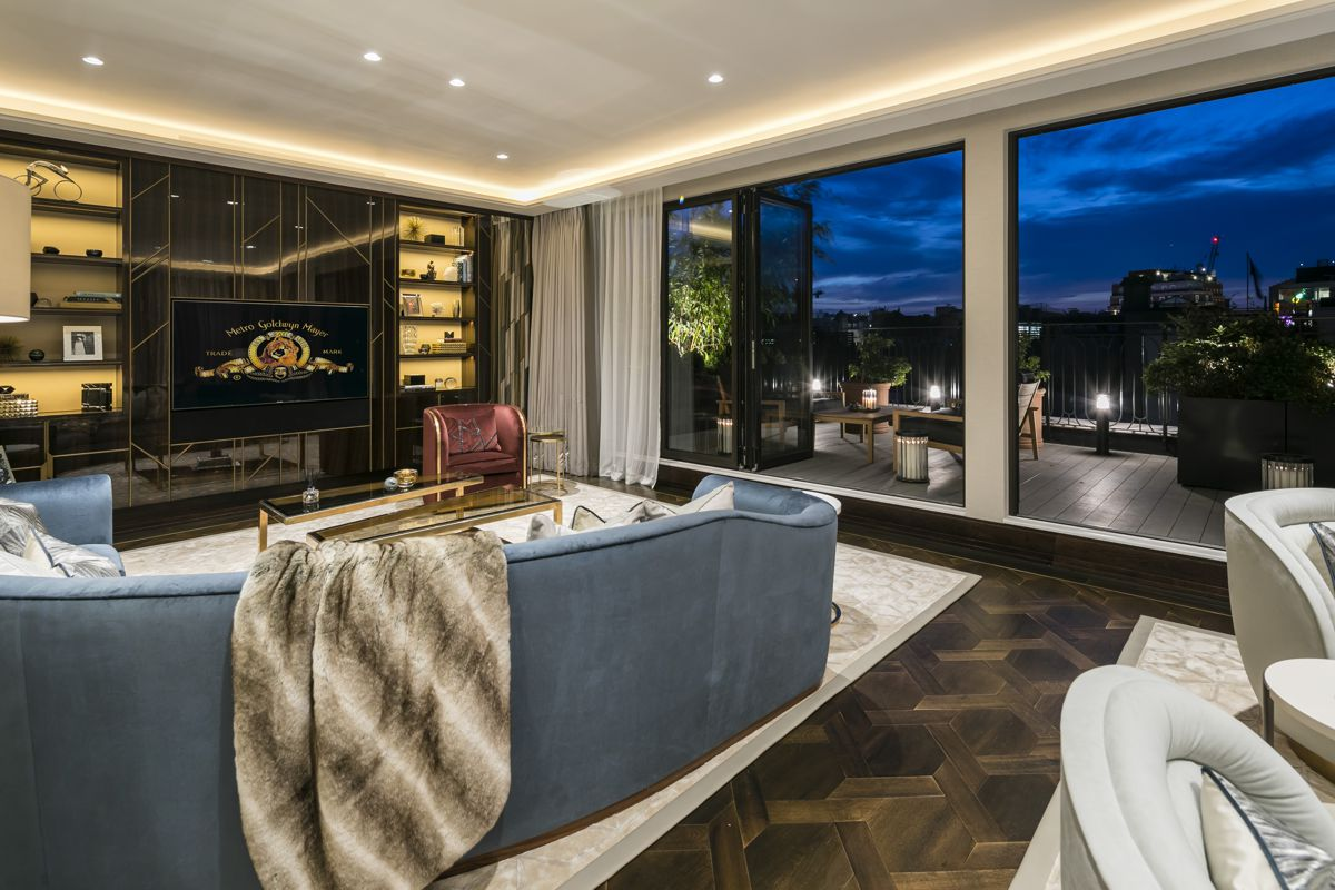 Residential Design Over £1M - Fenton Whelan - Greybrook House Penthouse