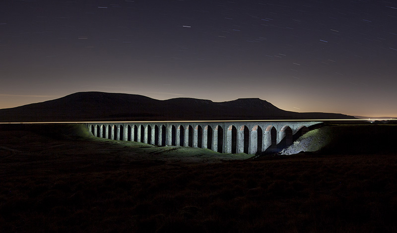 Painted with Light, Ribblehead Viaduct, North Yorkshire, England