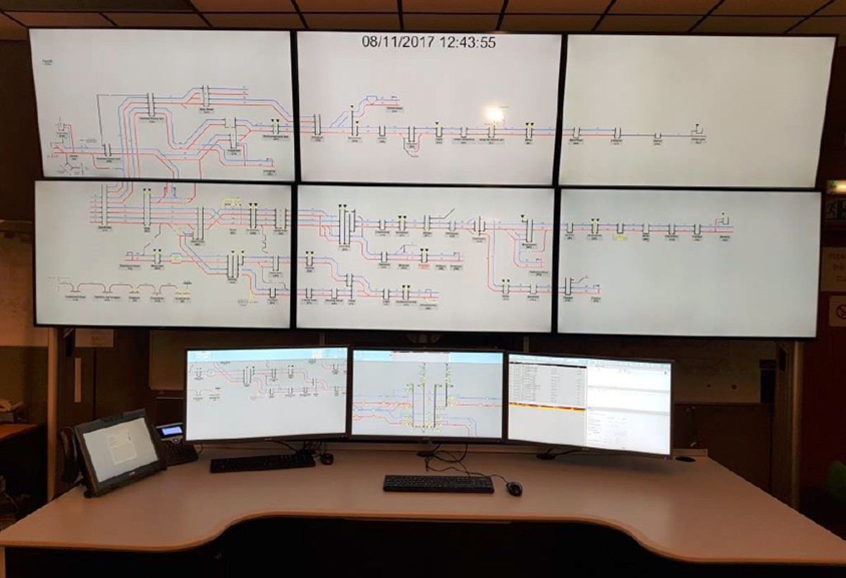 Traction Power Centralised Management System goes live for Network Rail upgrade
