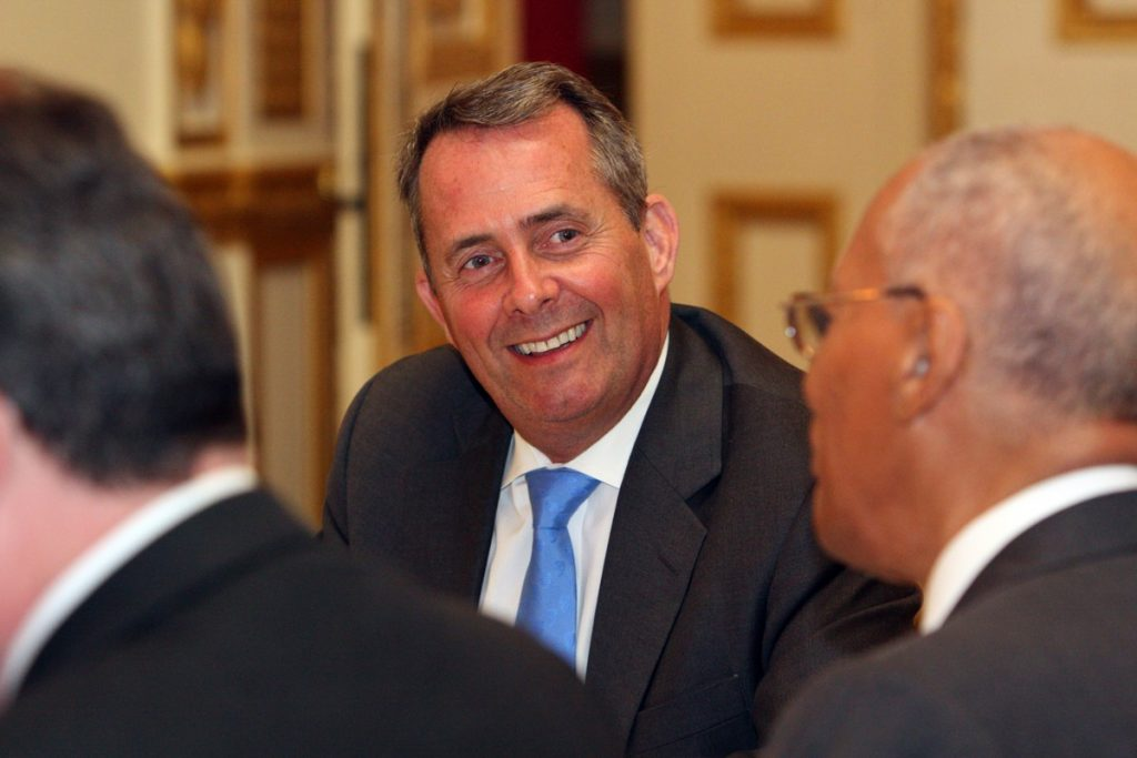 Secretary of State for Defence Liam Fox - Photo by Foreign and Commenwealth Office
