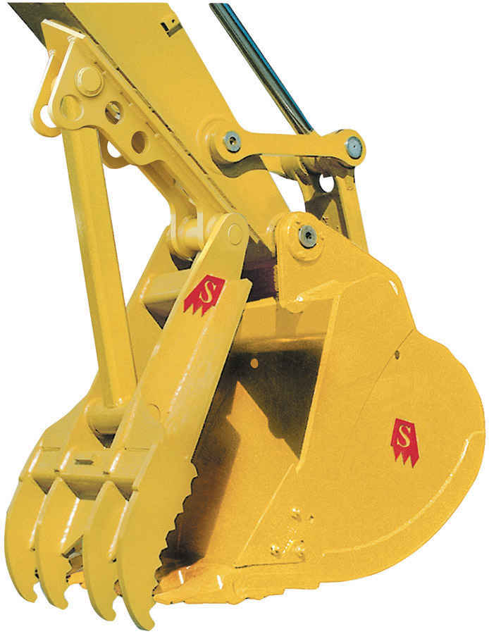 Solesbee's offers its series of manual and hydraulic excavator thumbs for any size and model excavators.