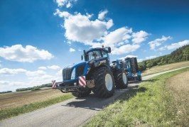 New Holland reveals T9 Auto Command Tractor