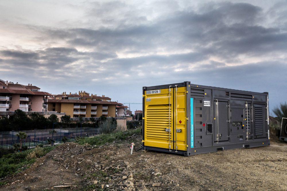 TwinPower qac 1450 power generator application malaga