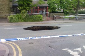 Potholes in the UK are a national disgrace