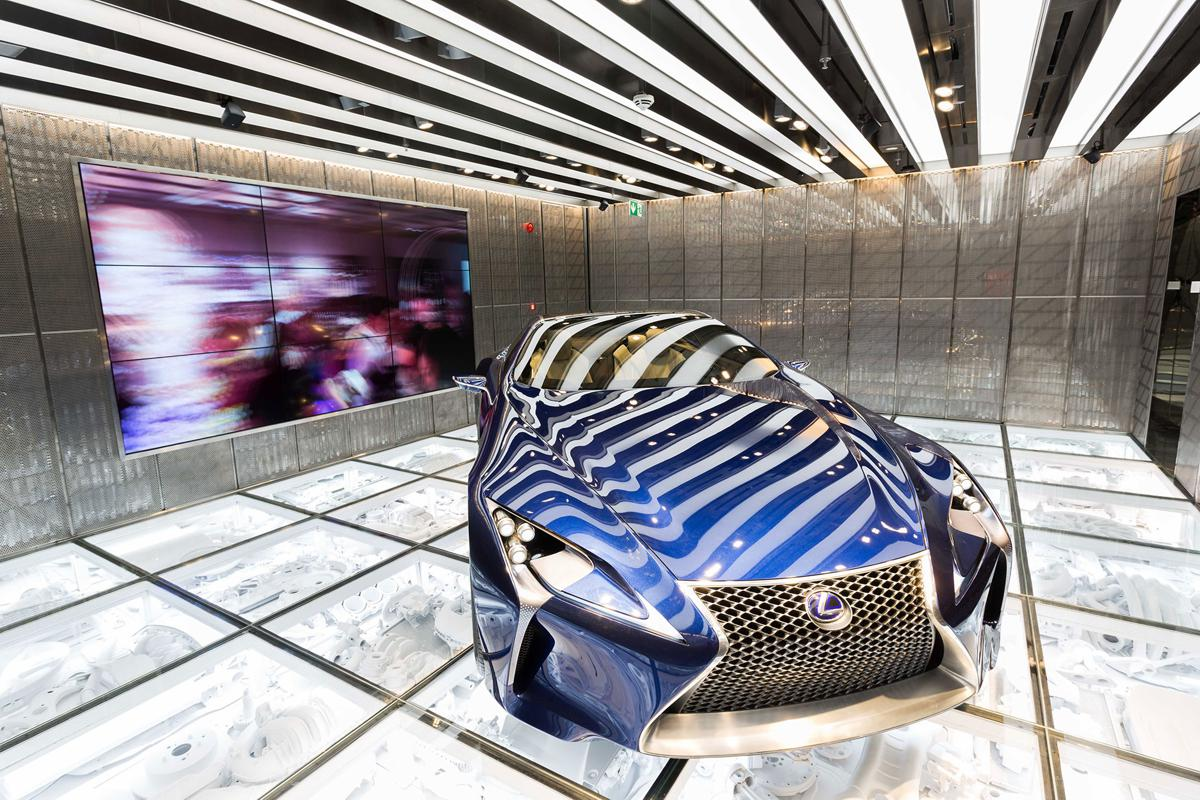 LXA - Intersect by Lexus by LXA; Winners of the Retail Design category 2017