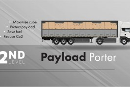 Revolutionary Payload Porter delivers two level truck payload solutions