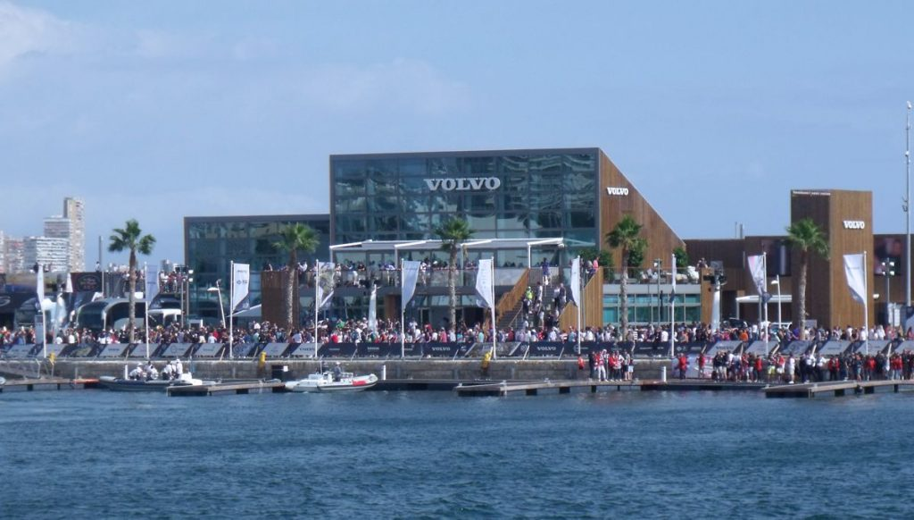 Volvo Race Event HQ in Alicante