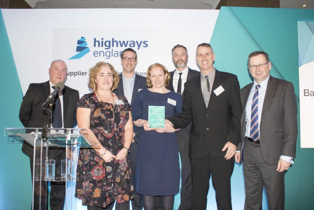 Highways England hails concrete repair project for boosting diversity in construction