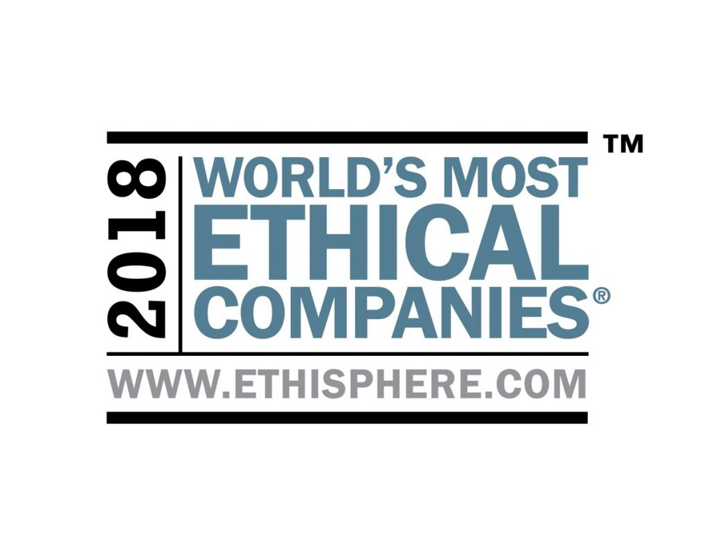 JLG parent company Oshkosh Corp named a 2018 World's Most Ethical Company