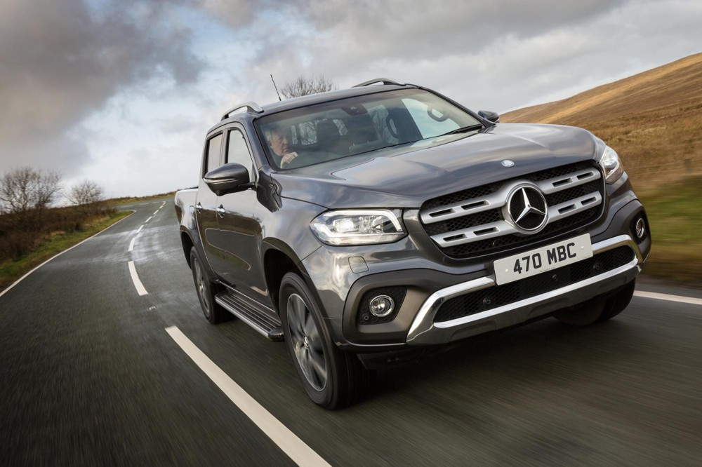 Mercedes-Benz X-Class Pickup honoured at the Professional Pickup and 4x4 Awards