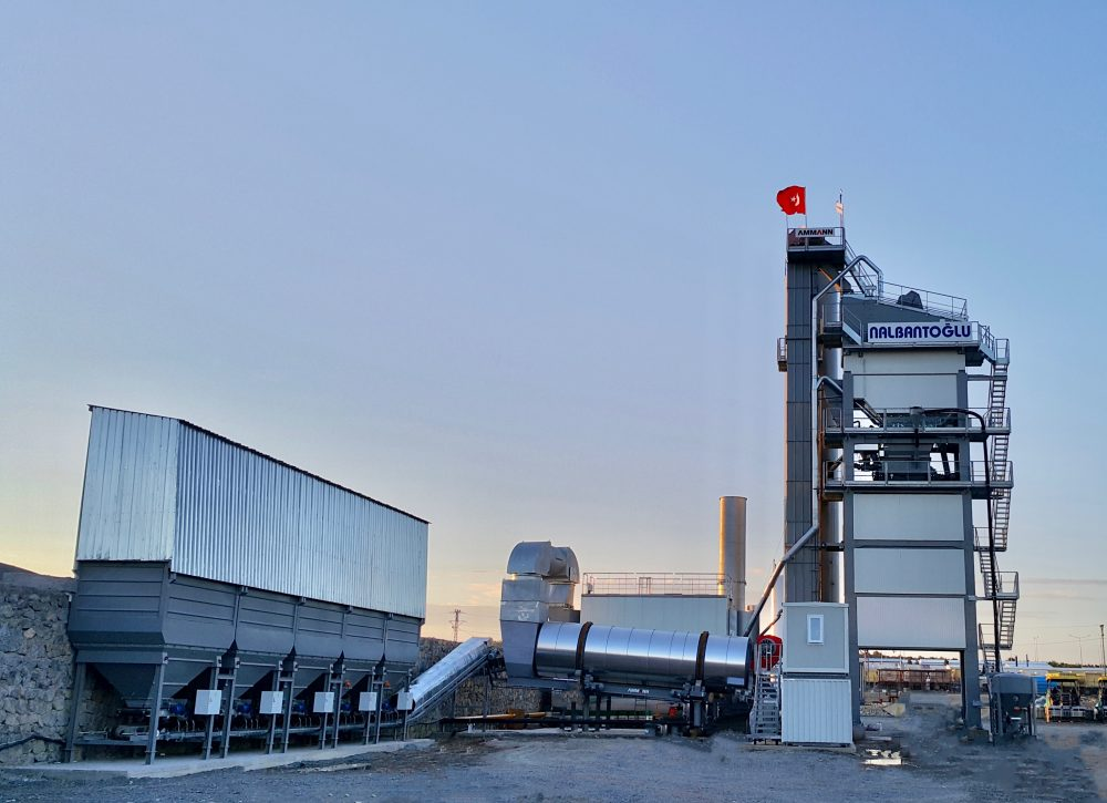 Ammann Asphalt Mixing Plant plays major role in Turkish Highway project