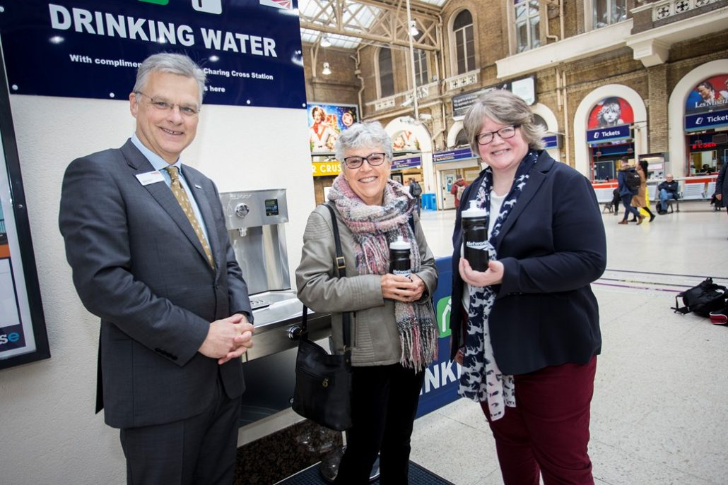 Network Rail taps into drive to reduce plastic
