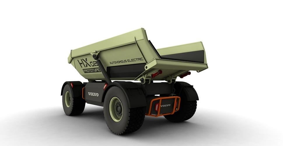 Volvo experiments with automated Quarrying