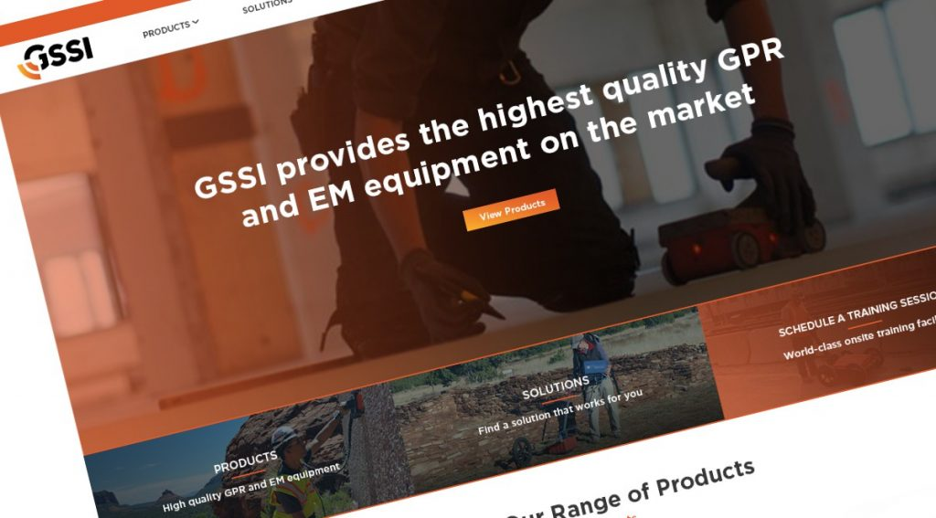 GSSI Proudly Announce Launch of New Website
