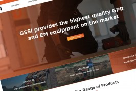 GSSI – Geophysical Survey Systems launches new dynamic website