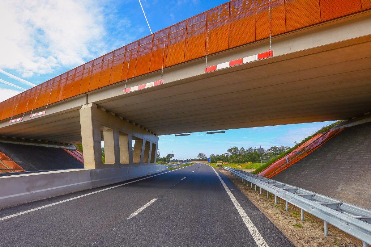 Next Architects design the landscape for 24km of road works in Friesland, Netherlands