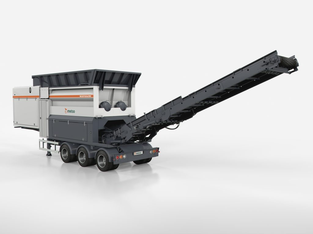 The M&J PreShred 4000 series is the most popular pre-shredder in Metso's portfolio, and it meets the special needs of incoming material that is extremely varied.