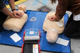 What would you do if a member of your team had a cardiac arrest?