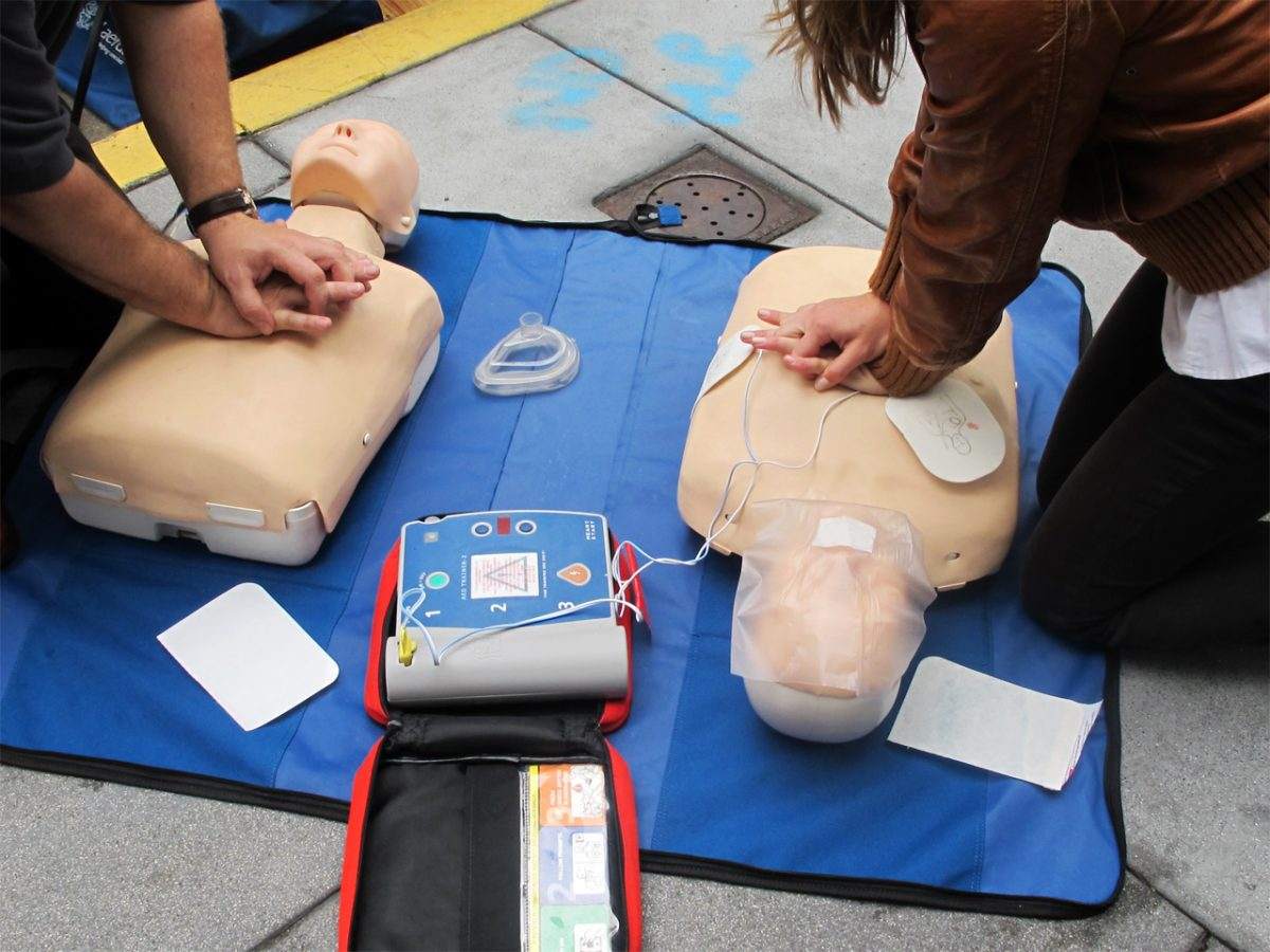 CPR Training - Photo by Anita Hart