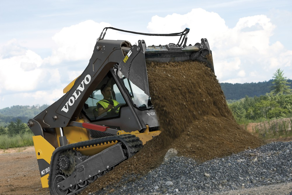 Volvo launches six skid steer and compact track loaders
