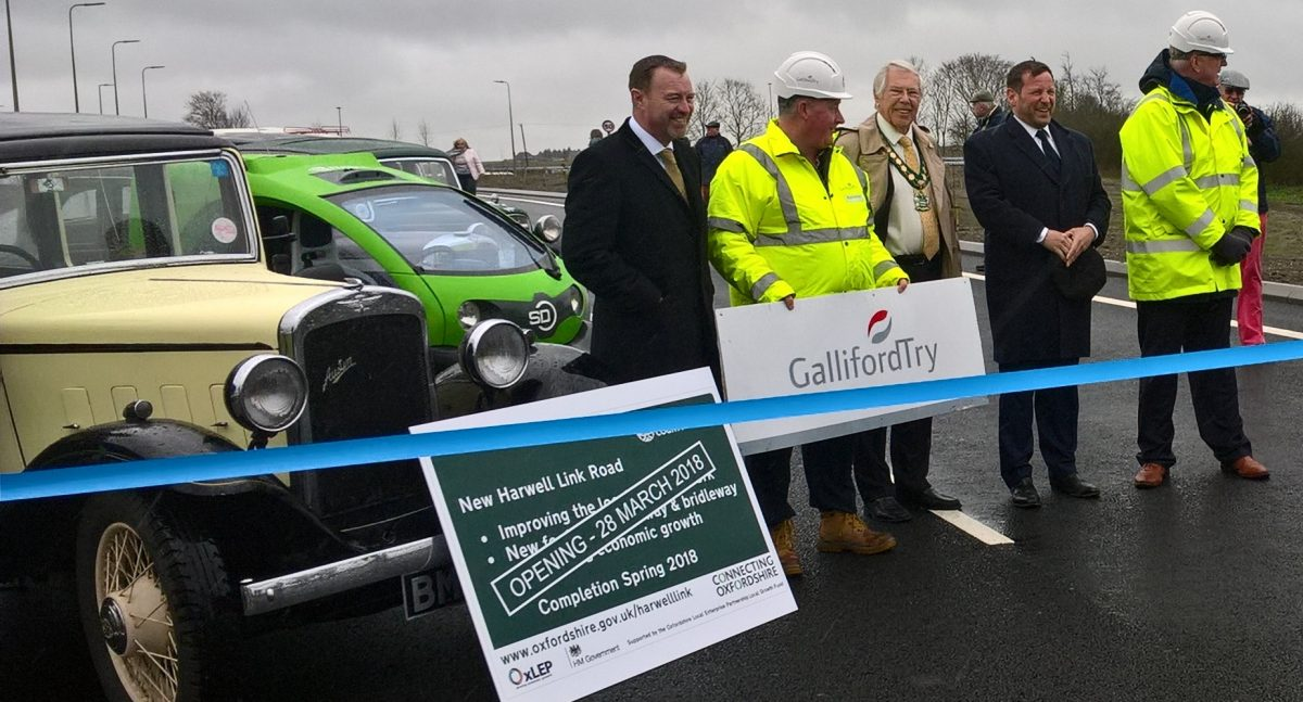 Harwell Link Road opening