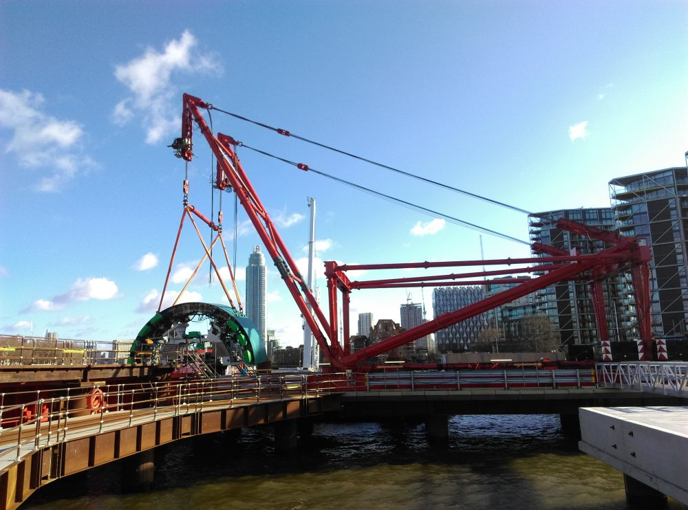 ALE bespoke lifting system saves time and money on Thames Tideway Project