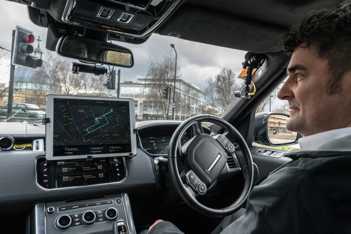 Jaguar Land Rover and INRIX awarded grant to increase Autonomous Vehicle safety