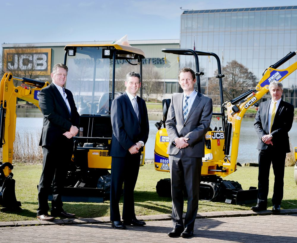 Jewson places £8 million order for 500 JCB machines