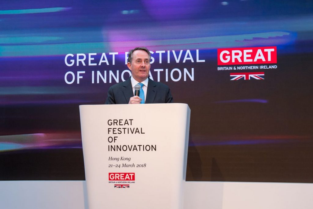 Liam Fox launches awards for Best Business Partnership of the Future